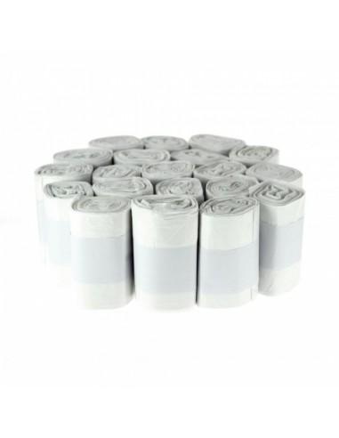 Sacs poubelles 10 litres blanc HD