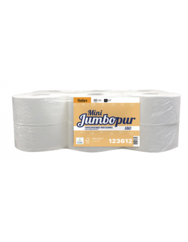 Papier toilette Mini Jumbo Ecolabel...